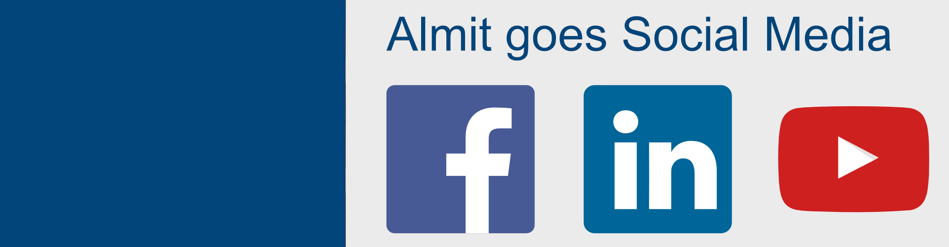 Almit goes Social Media!